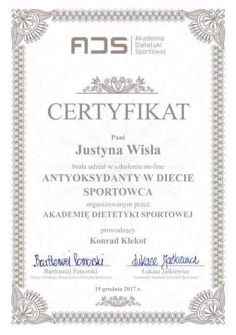 Justyna Płoskonka dietetyk antyoksydanty