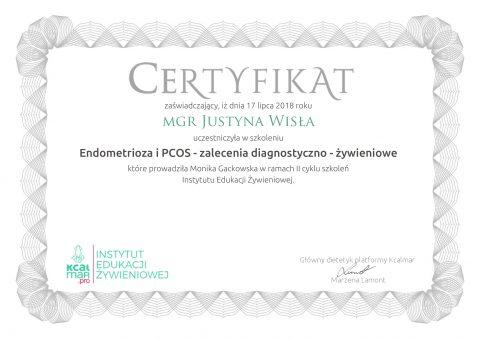 Justyna Płoskonka dietetyk endometrioza PCOS