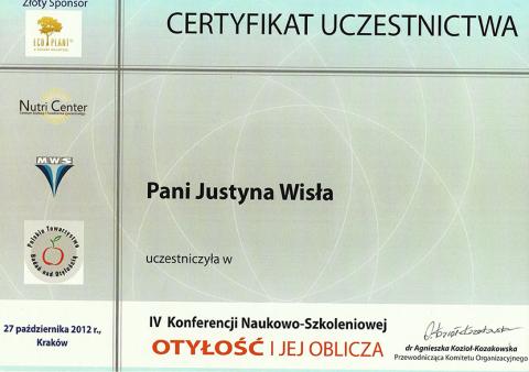 Justyna Płoskonka dietetyk otyłość