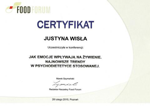 Justyna Płoskonka psychodietetyk emocje