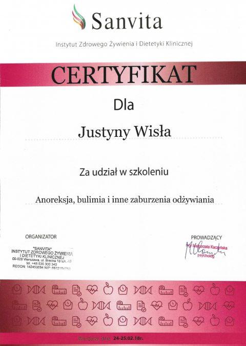 Justyna Płoskonka dietetyk zaburzenia odżywiania