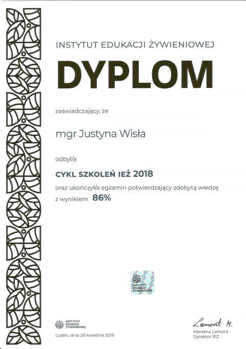 Justyna Płoskonka dietetyk kcalmar