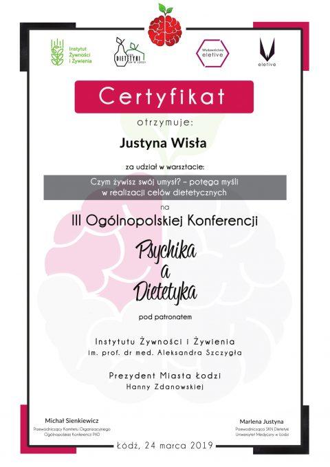 Justyna Płoskonka dietetyk PAD psychika a dietetyka