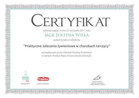 Justyna Płoskonka dietetyk tarczyca